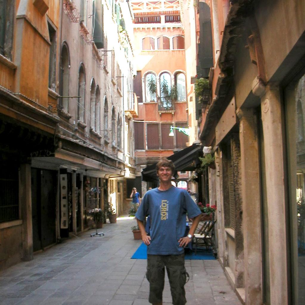 Piotrek Bodera Venezia 2009