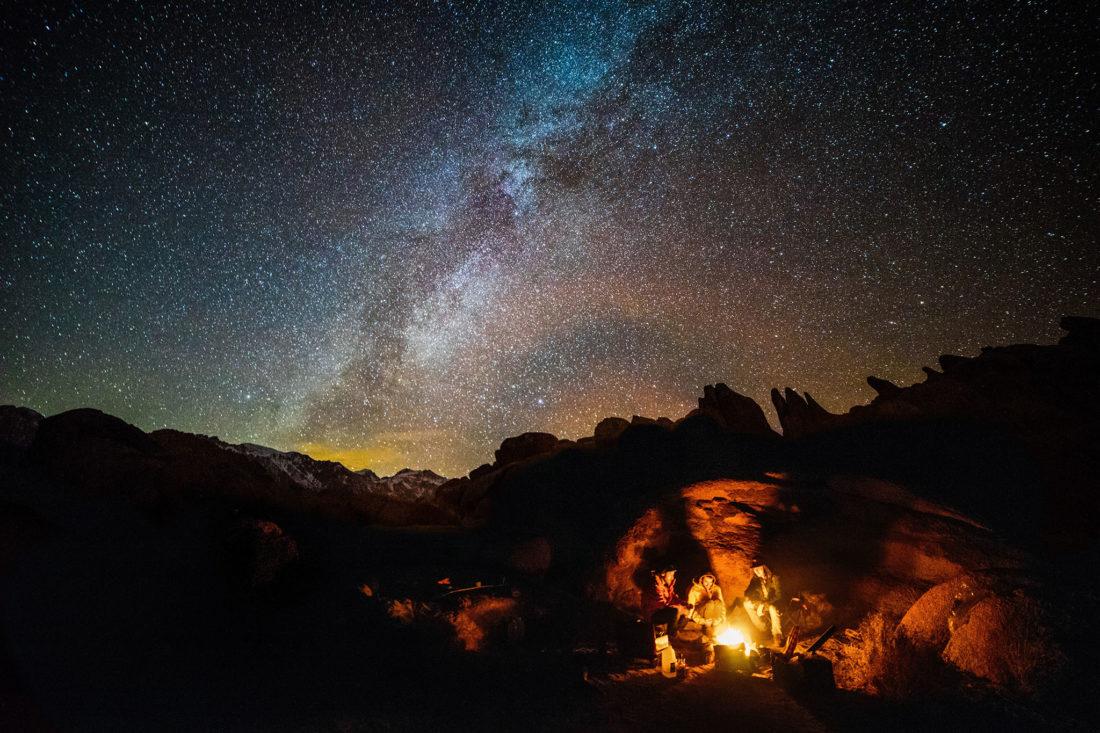 opowieści przy ognisku
