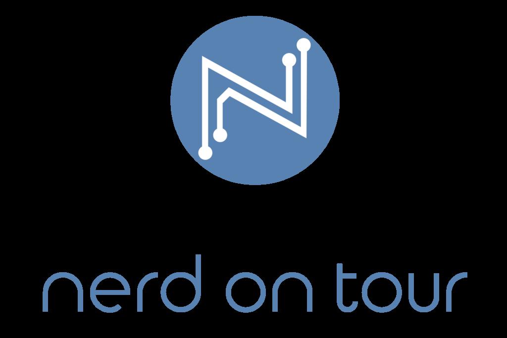 nerd on tour logo