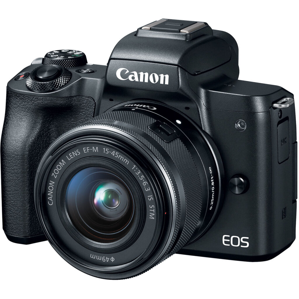Canon EOS M50 Mirrorless Digital Camera