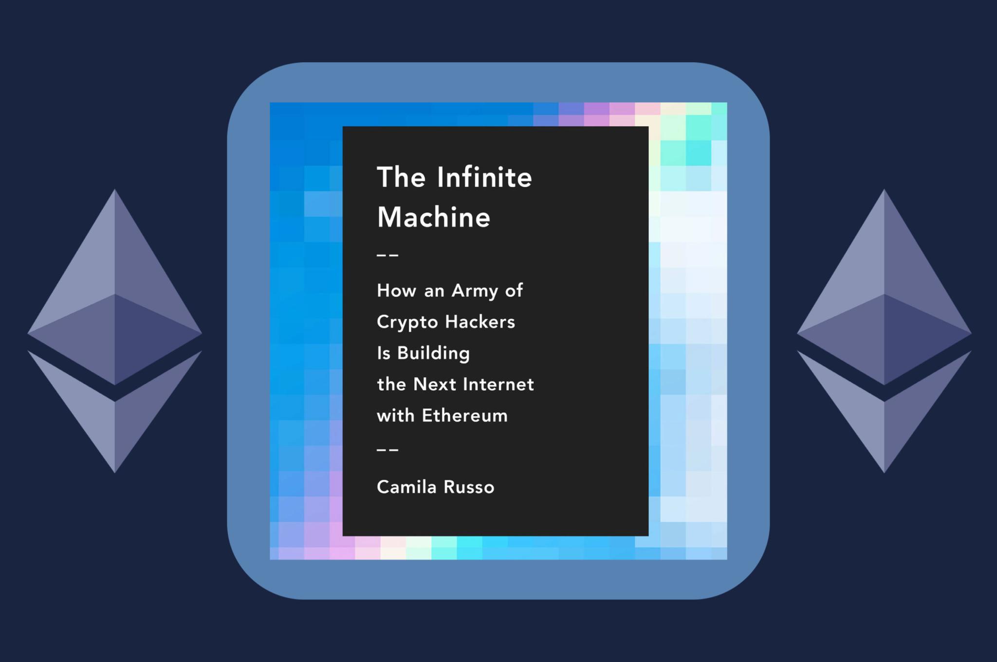 infinite machine book blog post cover