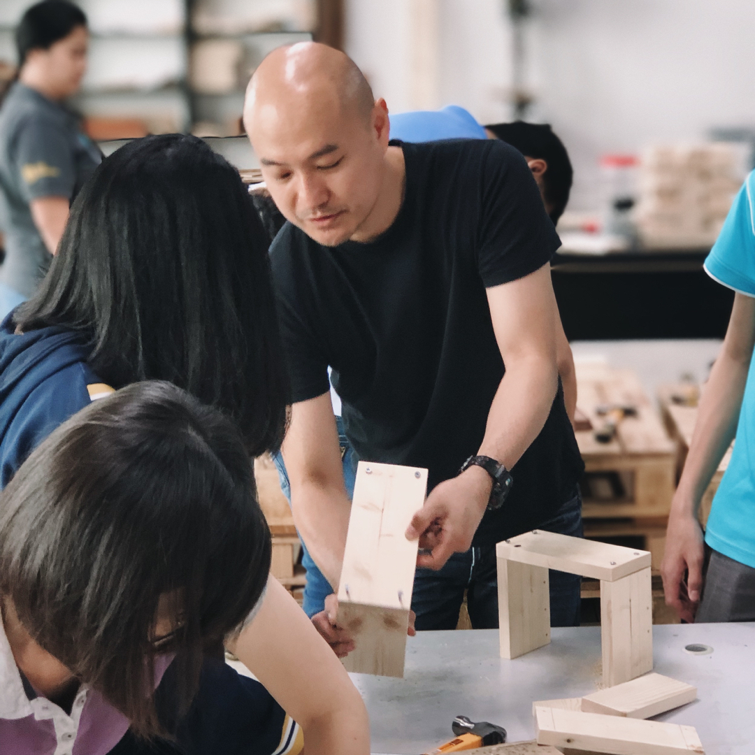 Kevin Yeoh woodworking